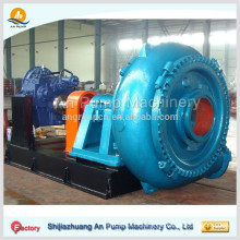 Sand suction pump, Pumps drag and dump the sand