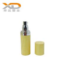 Round wood painting acrylic lotion mini hand sanitizer 2oz plastic cream bottle