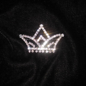 Crystal Rhinestones Pageant Crowns Brooches