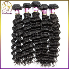 Высокое качество оптовой класс 6a глубокая волна бразильский натуральные волосы