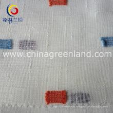 Polyester Slub Swissdot Fabric for Suntan-Proof Wear (GLLML161)