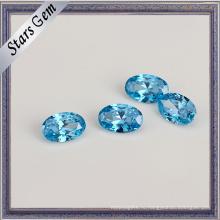 Высокое качество Аква-синий кубический цирконий для ювелирных изделий