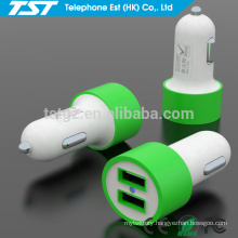 Good Quality Portable 5V 2.1A Dual USB Mobile Car Charger