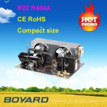 Compresseur de refroidissement petites unités de réfrigération unité de condensation pour vrais réfrigérateurs commerciaux unité de réfrigération chambre froide