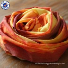 Brand New DESERT PICTURE Custom Print Design 100% Natural Wool Scarf SWW812