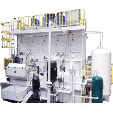 La laveuse automatique en aluminium