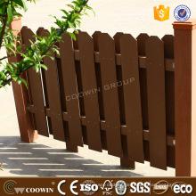 Guter Preis Außenvertäfelung Holz Composite-Outdoor-WPC Wandverkleidung Zaun