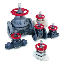 Flanged Type PVDF Diaphragm Valve (G41F-10)