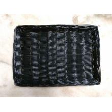 Поддельная корзина из плетеной корзины из ротанга; Хлебная корзина; Продуктовая корзина; Пластиковая корзина