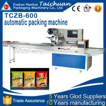 TCZB600 High Speed Food Horizontal flow Pillow Type Packing Machine price