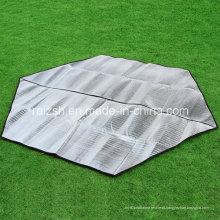 Hex-Sided alumínio folha Dampproof Tent uso interior e exterior