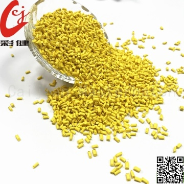 Yellow Cable Masterbatch  Granules