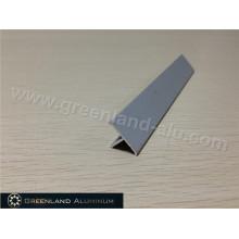 T Suelo de aluminio de transición Tile Edge Trim Matt Silver