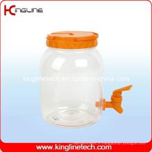 2500ml Plastic Water Jug Wholesale BPA Free with Spigot (KL-8008)