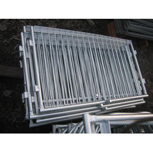 Panel de valla revestido de PVC o galvanizado (SL71)