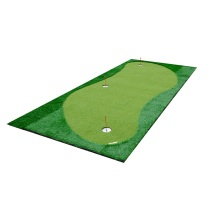 Golf Simulator With Putting Green Golf Mat Large