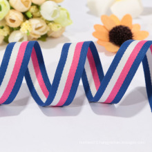 Customized red white blue ribbon