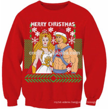 15CSU065 2017 Unisex ugly christmas sweater Khan and She-Ra
