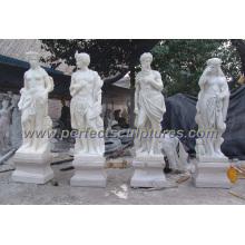 Камень Мраморная резьба Скульптура для украшения сада (SY-X1034)