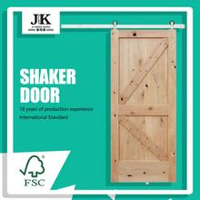 JHK-Warehouse Sliding Hardware Porta interna per pannello shaker