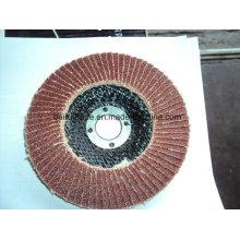 Disque de rabat abrasif d'utilisation de la bonne performance 4.5inch / 115mm