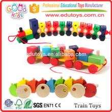 Wooden Train Set - Toy Vehicle