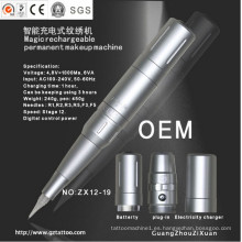 Máquina de maquillaje permanente digital recargable Zx12-19