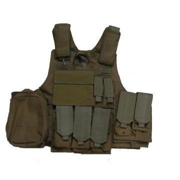 Niij Iiia UHMWPE Bullet Proof Vest pour équipage de compagnies