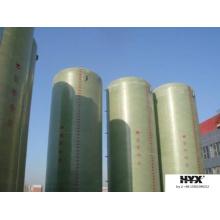 Tanque de FRP para fluidos de processamento químico