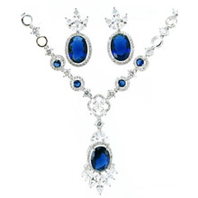 Wholesale White Gold Plated Silver 925 Jewelry Set (S3322B)