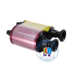 Véritable ruban de couleur ymcko original R3011c pour la primauté Pebble 4 imprimante de cartes à puce d'identification