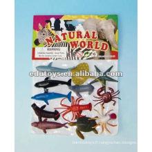 Jouets en plastique pour animaux de mer