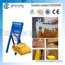 Bestlink aire empujando la bolsa para el corte de bloques de granito