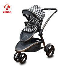 Baby Stoller avec cadre + siège régulier + deux en un + voiture