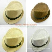 Chapeau de paille personnalisé compacte pour enfant