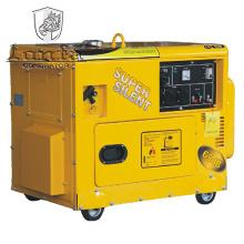 Generador de gasolina súper silencioso 6kVA con Ce, Soncap, CIQ