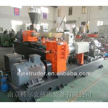 500 ~ 700kg / h Machine de granulation de PVC / ligne de production de granulés de câble pvc