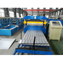 Roof Wall Panel IBR Trapezoidal Roll Forming Machine Metal PPGI Galvanized Steel Profile Lines