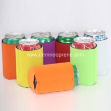 Colors collapsible drink can cooler in bulk