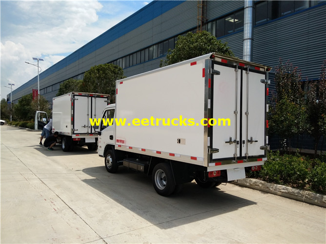 Insulated Box Vehicle