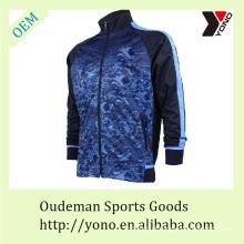 Fato de treino de futebol de estilo de moda para homem, camisa de futebol confortável com mangas compridas, roupa desportiva barata