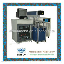 Máquina da marcação do laser de YAG para a placa de metal que marca 0.5mm