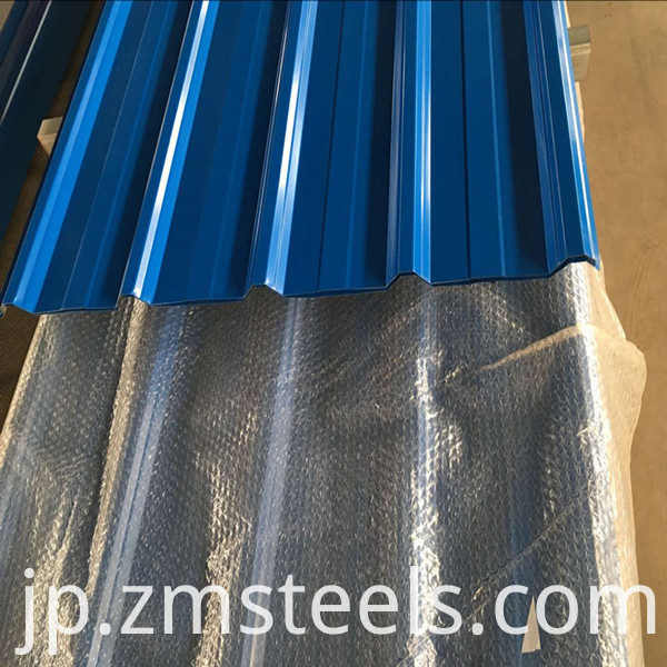 High Quality Galvanized Corrugated Steel Sheets