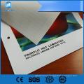 Bandeira laminada frente e verso do cabo flexível do pvc de 340GSM 200 * 300D 18 * 12 para imprimir