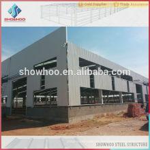 estructura de acero prefabricados graneros de metal