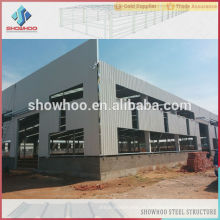 celeiro de metal pré-fabricado de estrutura de aço