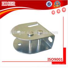 charnière de porte coulée sous pression en aluminium sur mesure