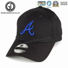 Hochwertige einfache Mode Schwarz Era Sport Golf Baseball Cap