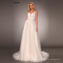 Latest Design Gorgeous Lace Alibaba wedding dresses in dubai