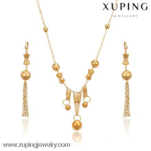 63354-Xuping New model african beads jewelry set wholesale